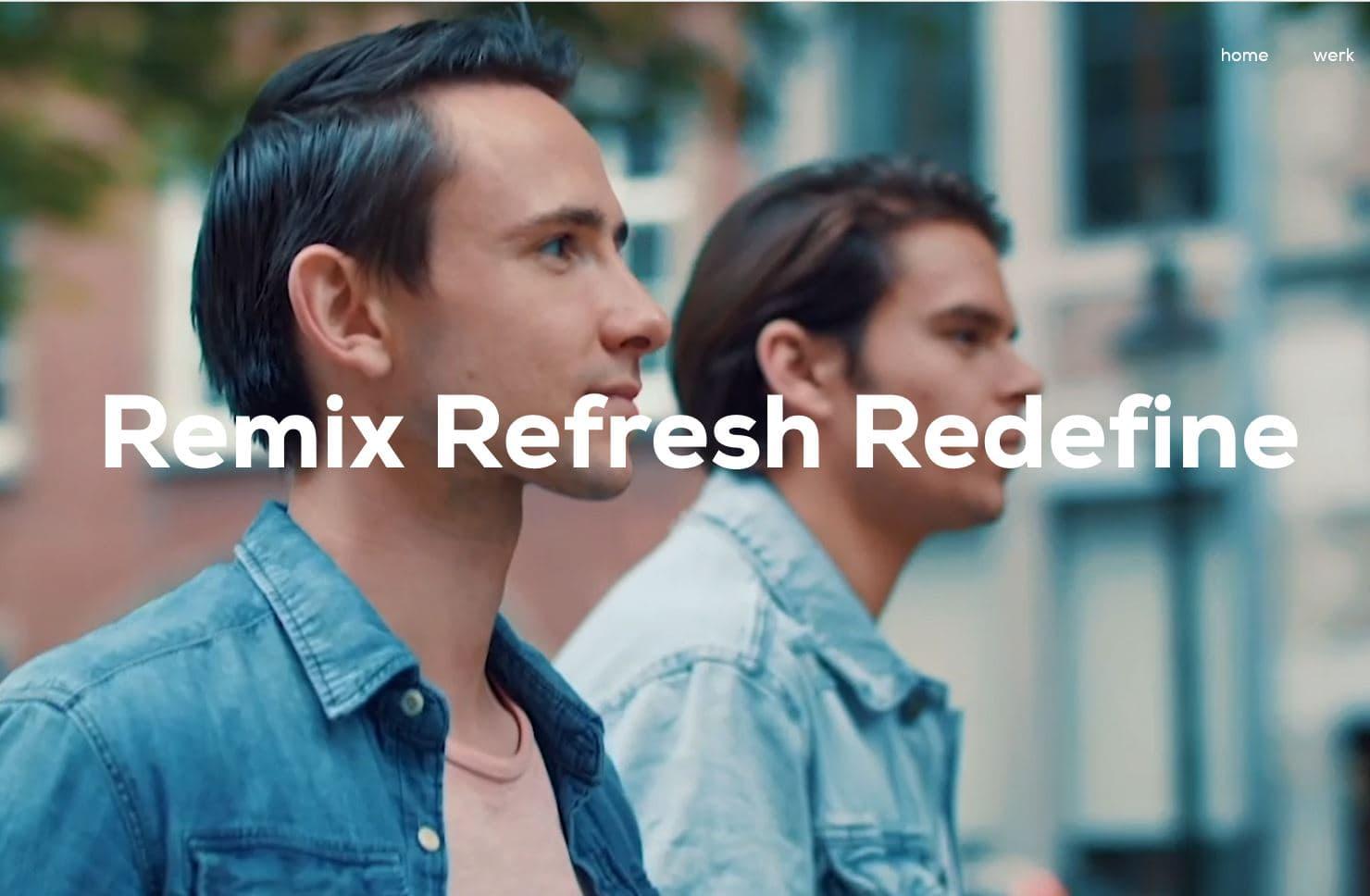Lucas & Steve Cover, Remix Refresh Redefine